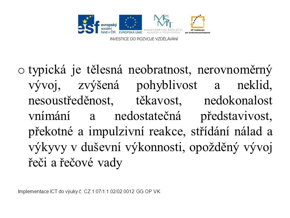 Obrna periferních nervů o většinou po úrazu dolních končetin nebo horních končetin Implementace ICT do výuky č.