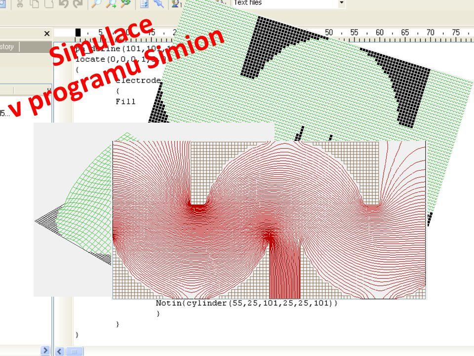 Simulace v programu Simion