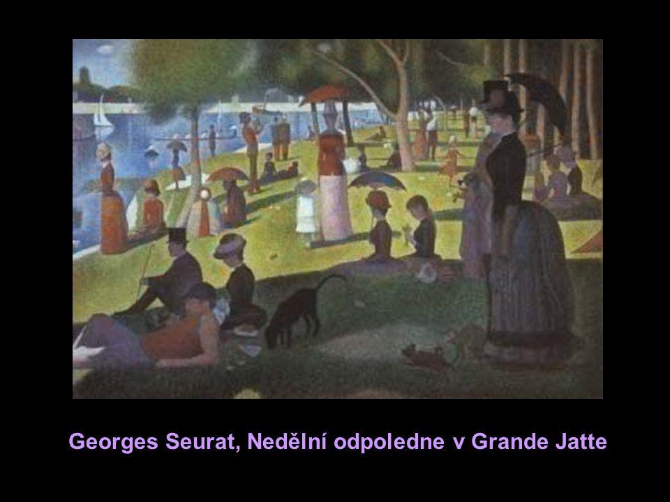 Georges Seurat, Nedělní odpoledne v Grande Jatte