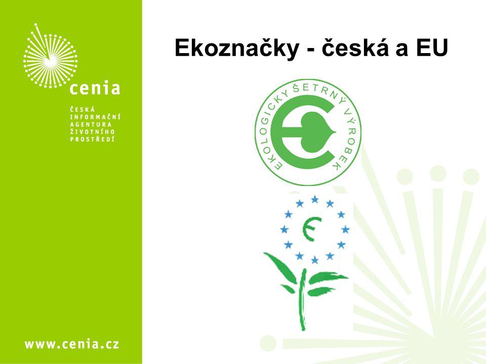 Ekoznačky - česká a EU