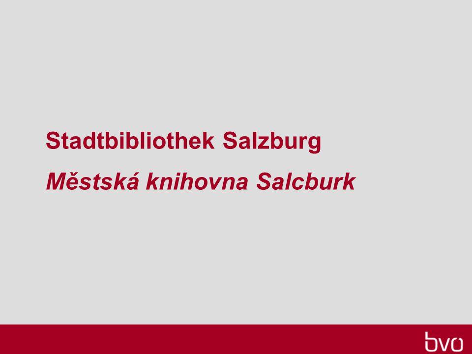 Stadtbibliothek Salzburg Městská knihovna Salcburk