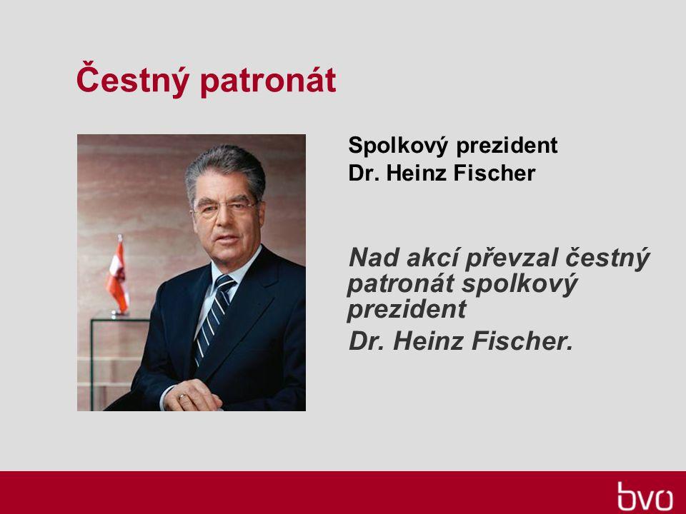 Čestný patronát Spolkový prezident Dr.