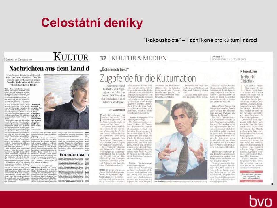 Celostátní deníky Rakousko čte – Tažní koně pro kulturní národ