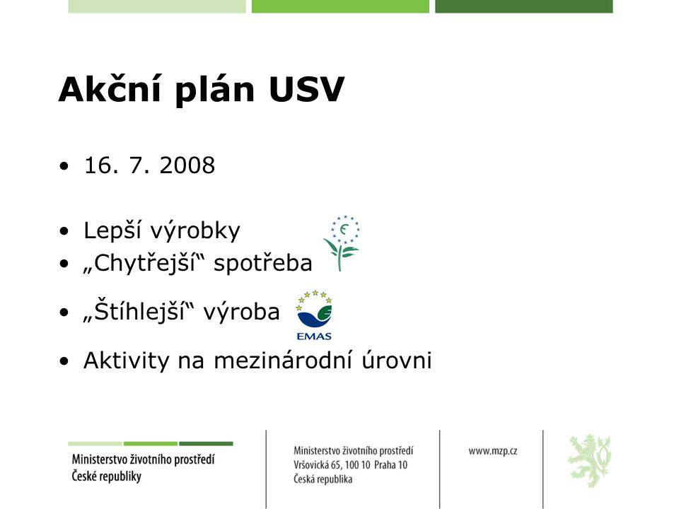 Akční plán USV 16. 7.