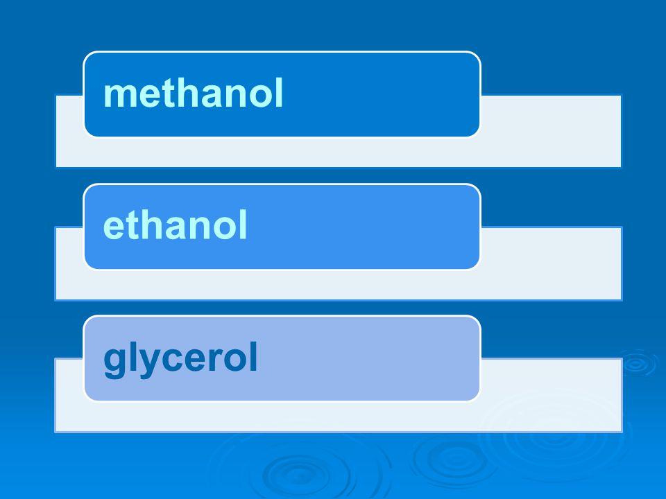  těkavá kapalina (methylalkohol) (methylalkohol) CH 3 OH  hořlavá Methanol (dřevný líh) (dřevný líh) Obr.