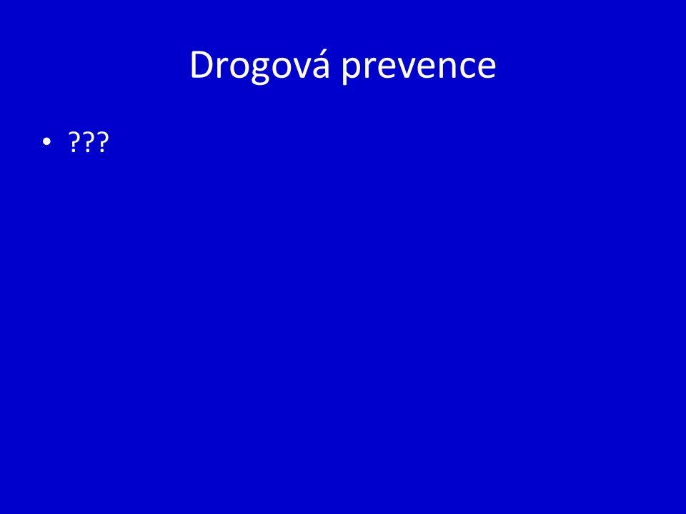Drogová prevence ???