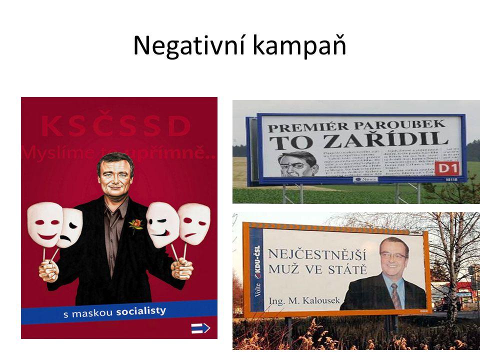 Negativní kampaň