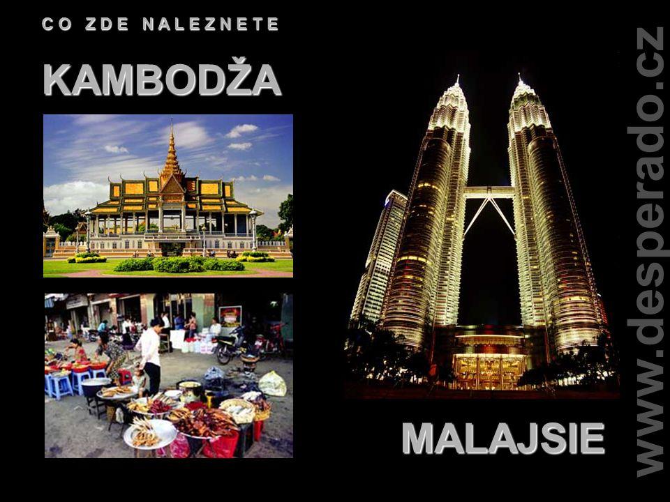www.desperado.cz C O Z D E N A L E Z N E T E LAOS THAJSKO
