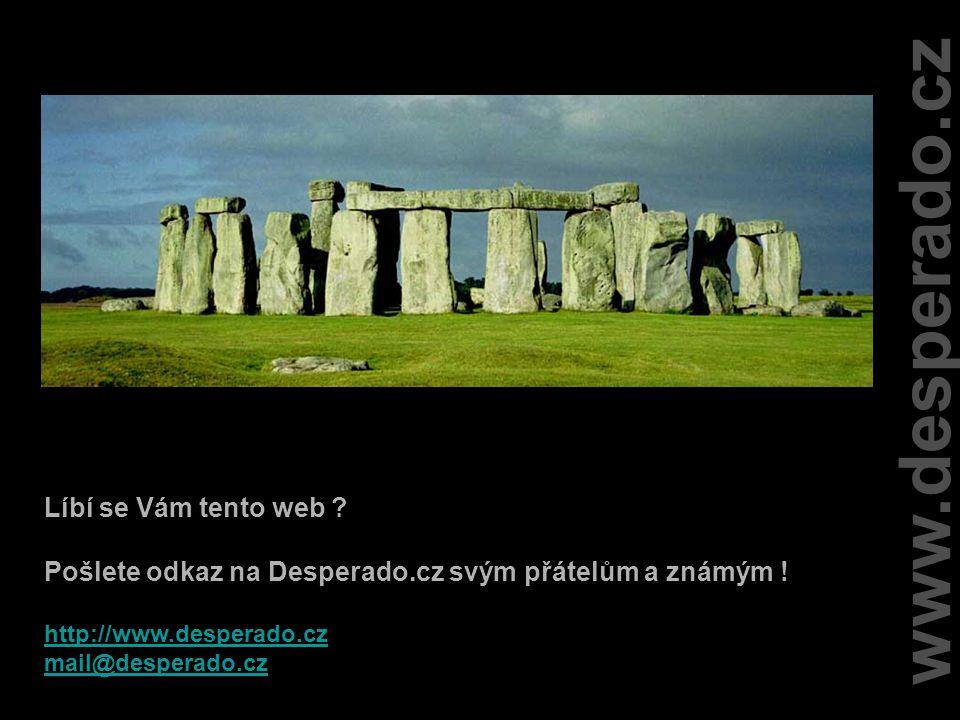 www.desperado.cz Líbí se Vám tento web .Pošlete odkaz na Desperado.cz svým přátelům a známým .