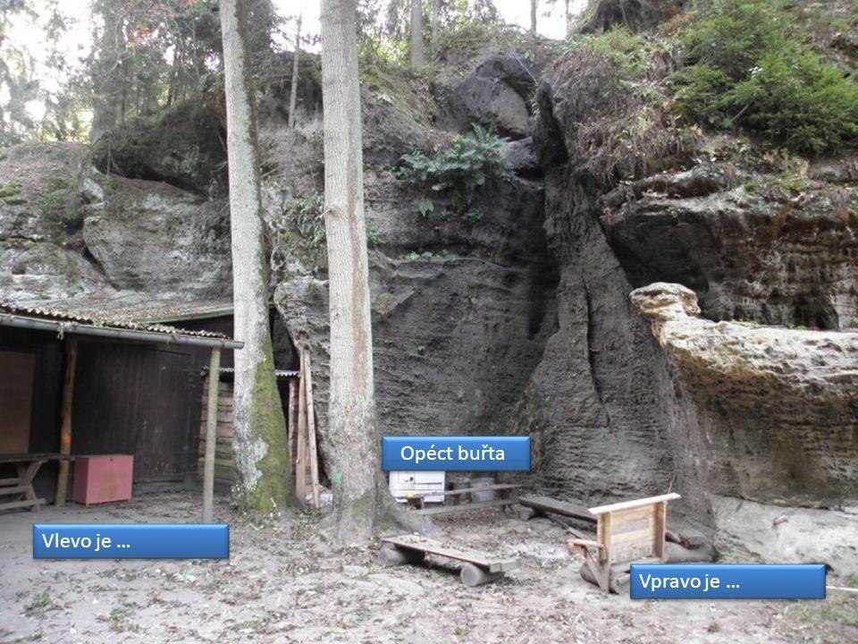 Vlevo je … Opéct buřta Vpravo je …