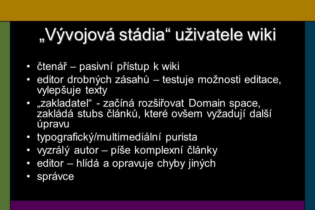Rozložení editací v české wikipedii