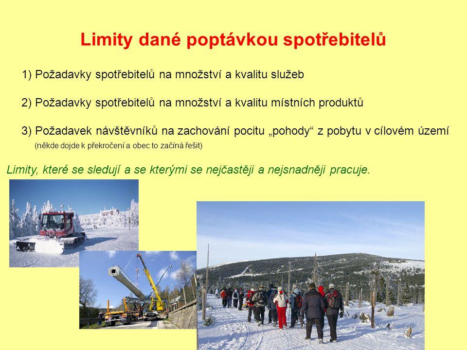 Potřeby místních obyvatel: Zájem přednější než turistický ruch (může fungovat i po část roku) např.