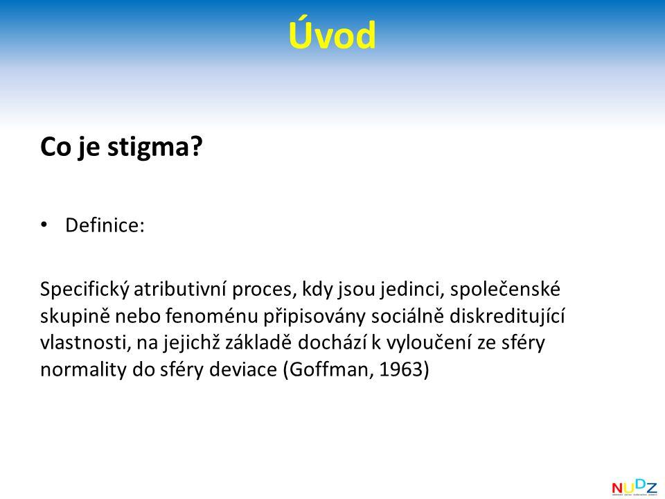 Úvod Co je stigma.