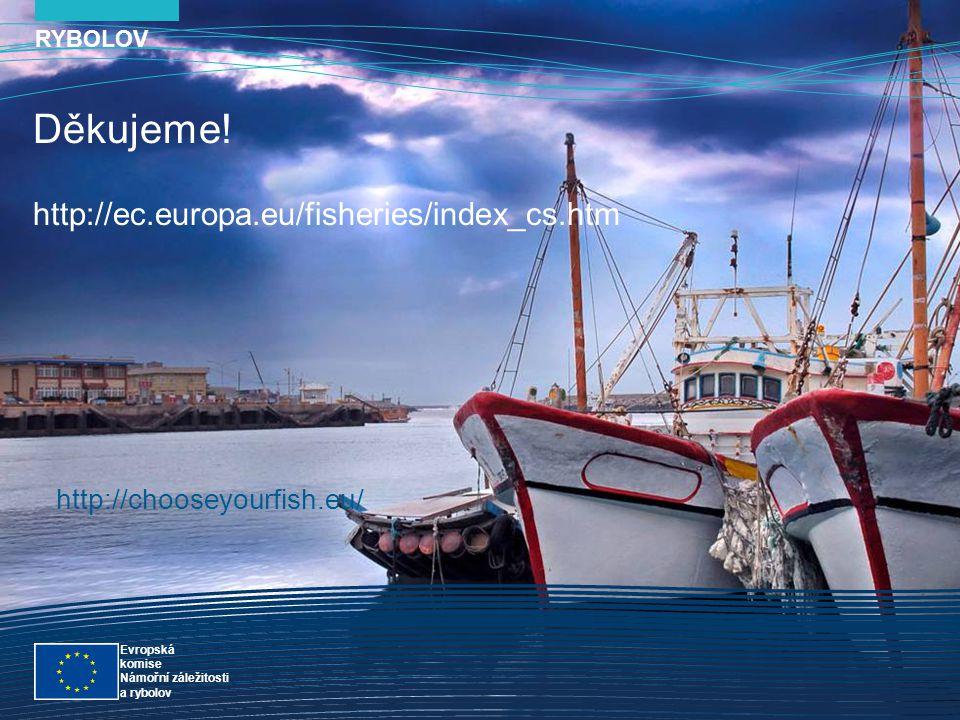 RYBOLOV snímek Evropská komise Námořní záležitosti a rybolov Rybolov 24 Děkujeme! http://ec.europa.eu/fisheries/index_cs.htm RYBOLOV Evropská komise N