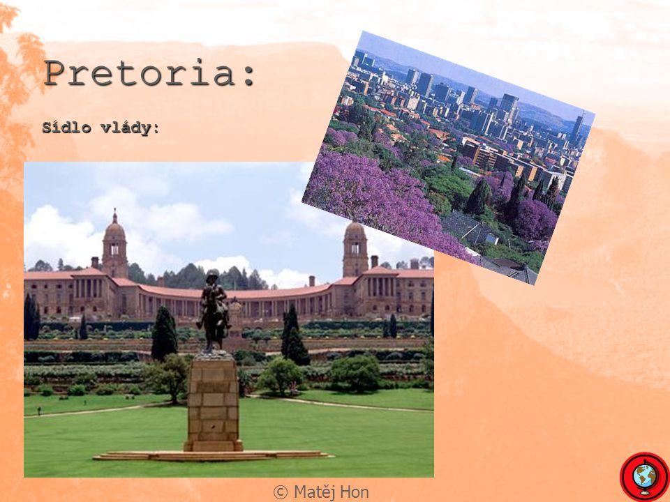 © Matěj Hon Pretoria: Sídlo vlády: