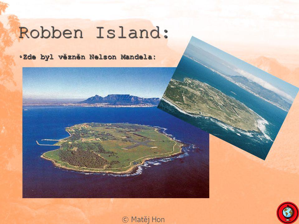 © Matěj Hon Robben Island: Zde byl vězněn Nelson Mandela:Zde byl vězněn Nelson Mandela: