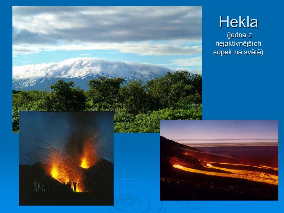 Hekla (jedna z nejaktivnějších sopek na světě)
