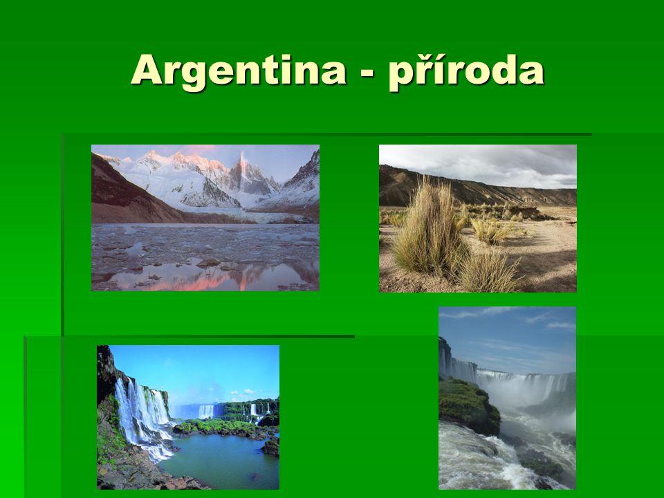 Argentina - příroda
