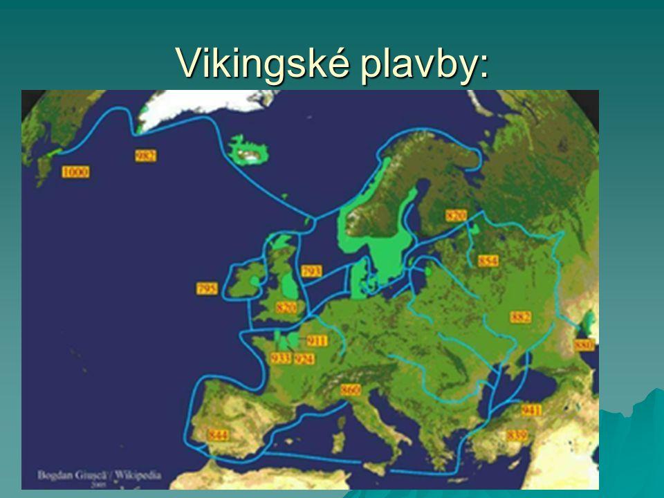 Vikingské lodě - drakkary