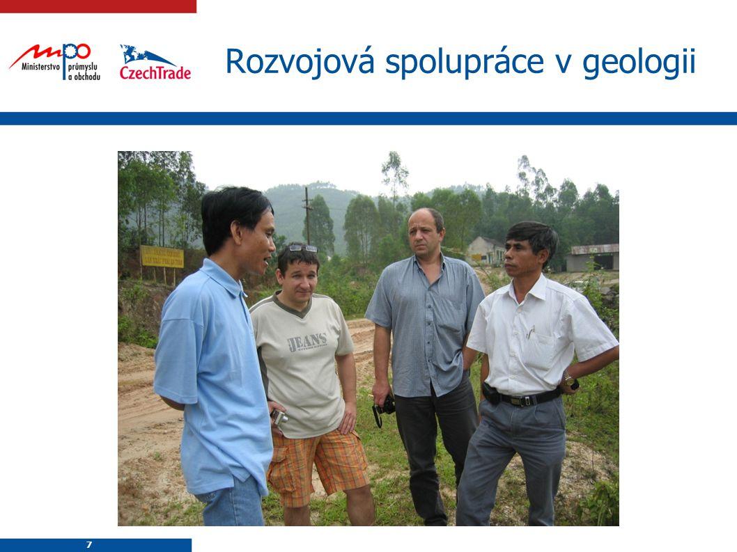 7 7 Rozvojová spolupráce v geologii
