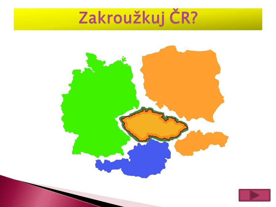 Zakroužkuj ČR?