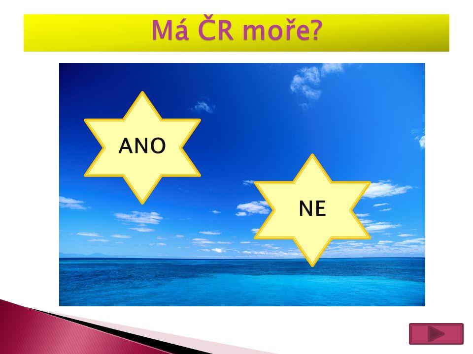 Má ČR moře? ANO NE