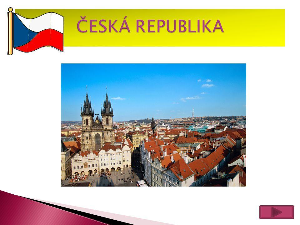  Česká republika leží ve středu Evropy. Je to stát vnitrozemský.