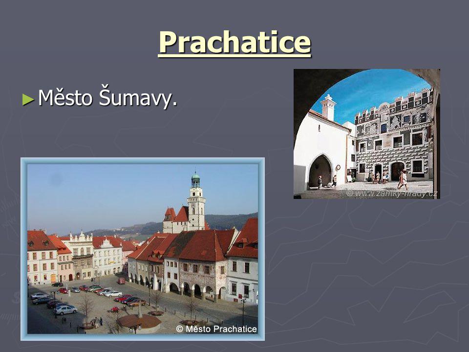 Prachatice ► Město Šumavy.