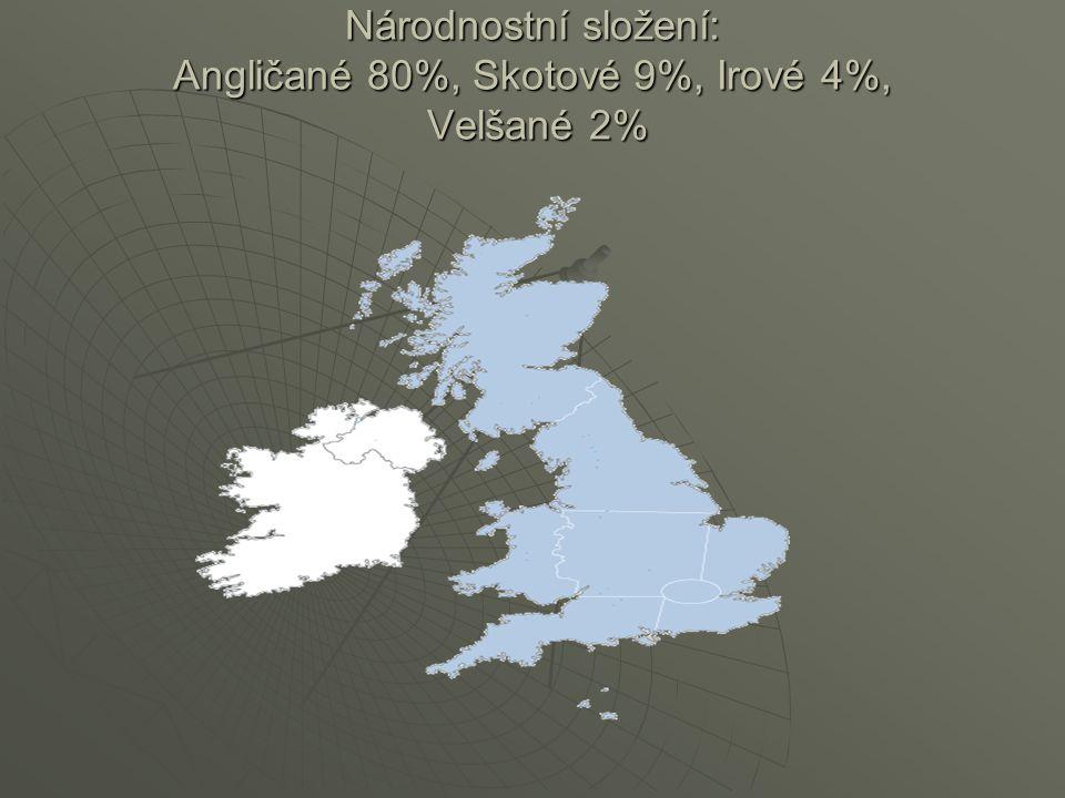 Rozdělení  Jihovýchodní Anglie  Jihozápadní Anglie  Londýn  Skotsko  Wels  Severní Irsko