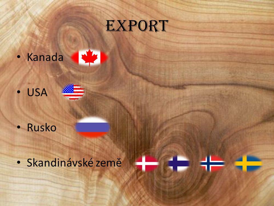 Oblasti a zpracování Nejvýznamnější oblasti: 1) Severní lesní pás – mírná klimatické zóna severní polokoule 2) Jižní lesní pás –rovníková a tropická klimatická zóna Využití dřeva: - výroba řeziva - výroba celulózy a papíru - palivo - Žďárové zemědělství také hraje svou roli (vypaluje lesy)