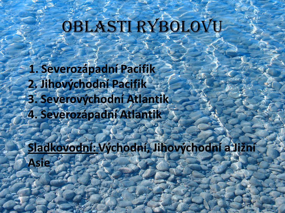 Rybolov - velmoci Japonsko USA Rusko Norsko Island Chile země Jihovýchodní Asie