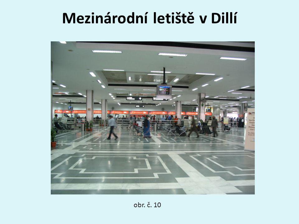 Mezinárodní letiště v Dillí obr. č. 10