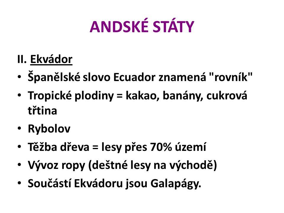 ANDSKÉ STÁTY II.