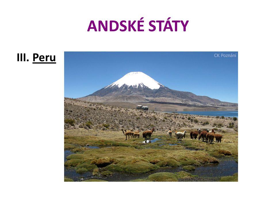 ANDSKÉ STÁTY III. Peru