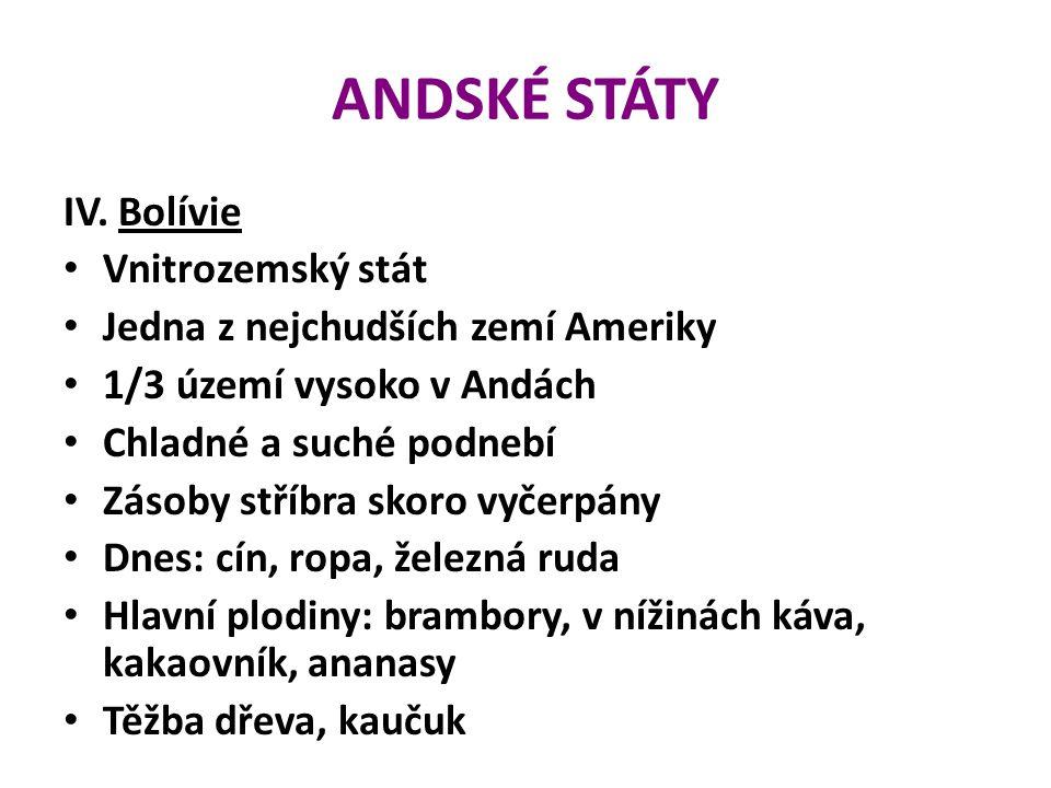 ANDSKÉ STÁTY IV.