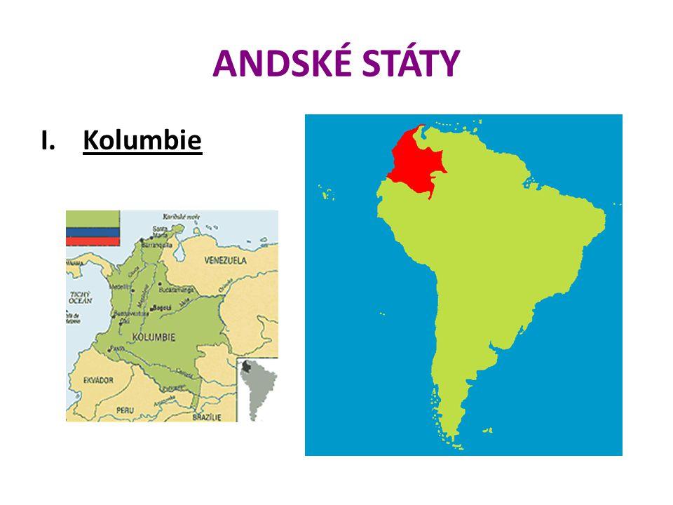 ANDSKÉ STÁTY I.Kolumbie