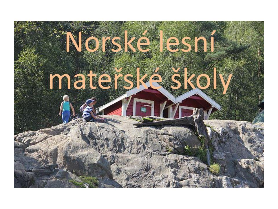 Norské lesní mateřské školy