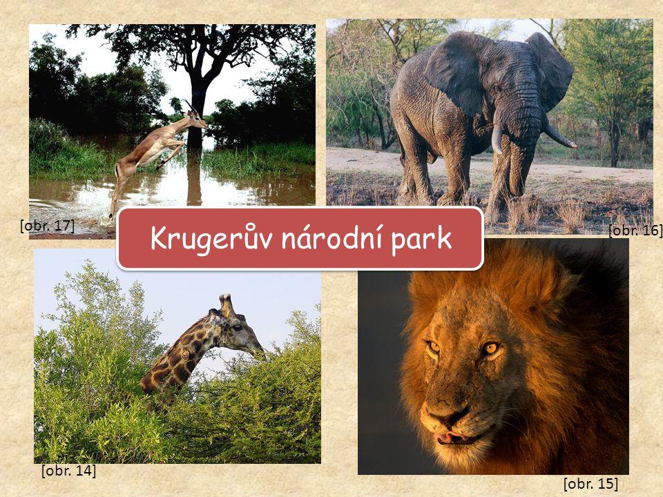 Krugerův národní park [obr. 14] [obr. 15] [obr. 16] [obr. 17]