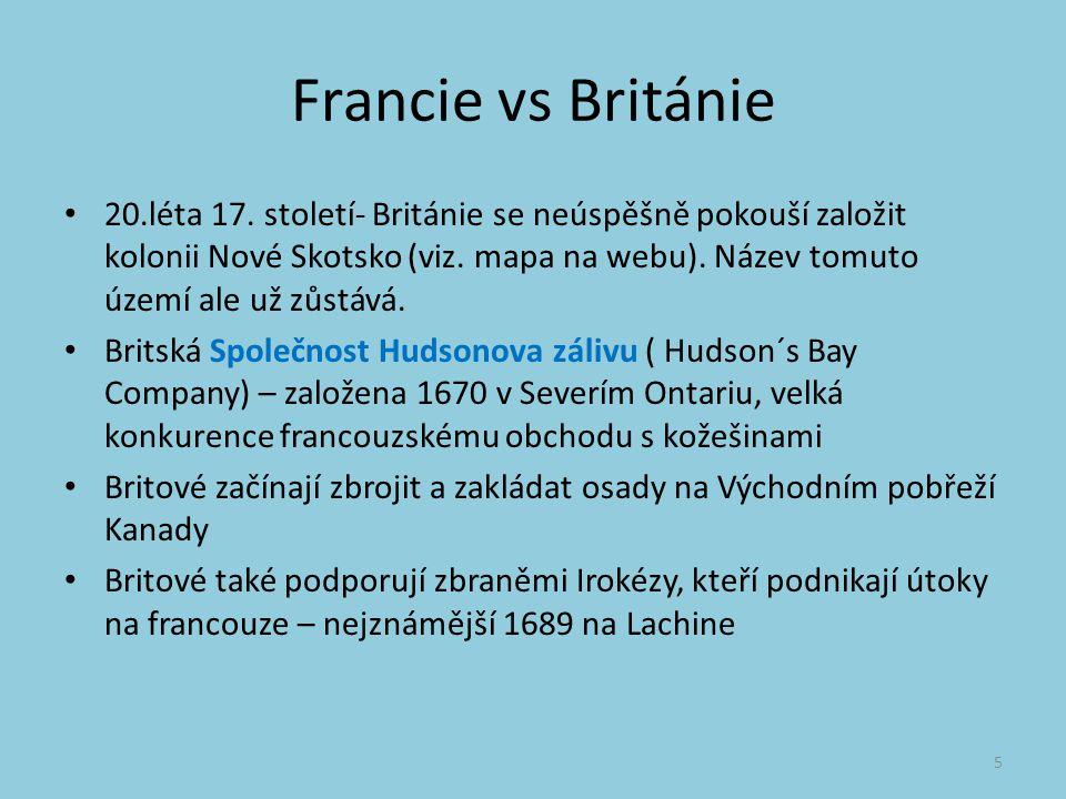 Francie vs Británie 20.léta 17.
