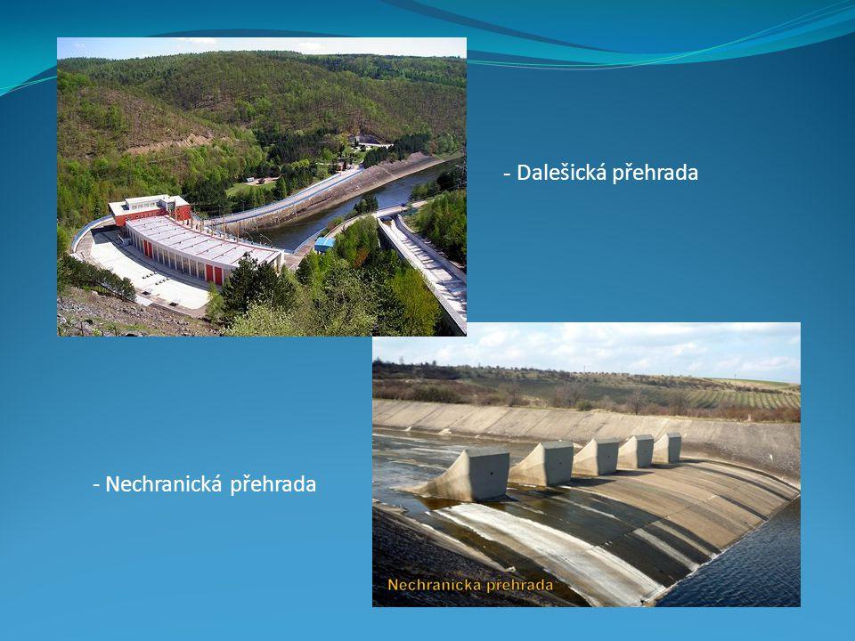- Dalešická přehrada - Nechranická přehrada