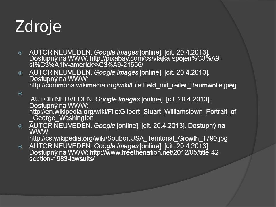 Zdroje  AUTOR NEUVEDEN.Google Images [online]. [cit.