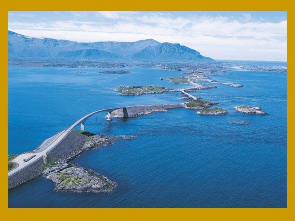 Norové tuto významnou silnici zvolili jako stavbu století v Norsku.