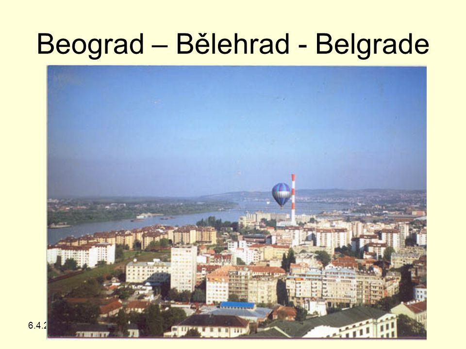 6.4.2015Z. Bergman, G Teplice Beograd – Bělehrad - Belgrade