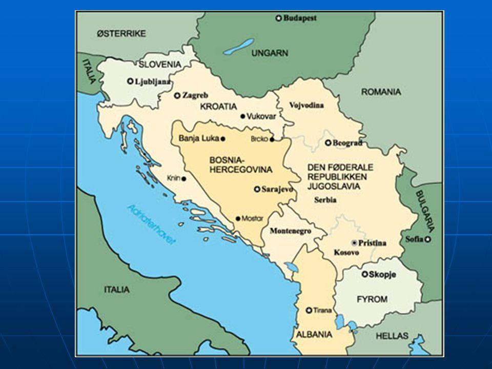Srbsko a Černá Hora Do r.2003 Jugoslávská svazová republika Do r.