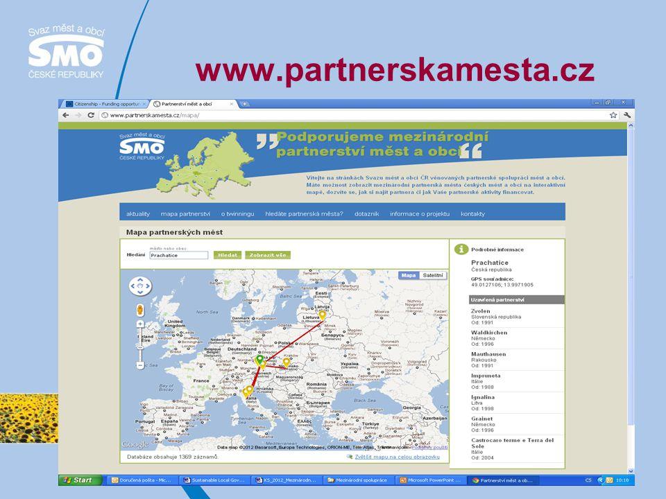 Očekávané výzvy Akce 1 Aktivní občané pro Evropu Opatření 1.1 Setkání občanů partnerských měst 1.únor, 1 červen, 1.