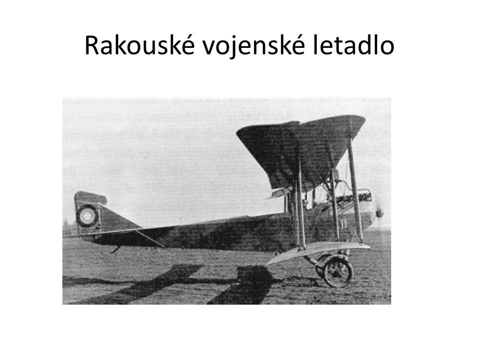 Rakouské vojenské letadlo