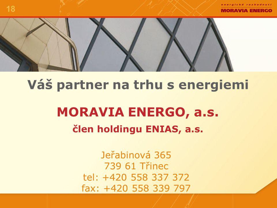MORAVIA ENERGO, a.s.člen holdingu ENIAS, a.s.