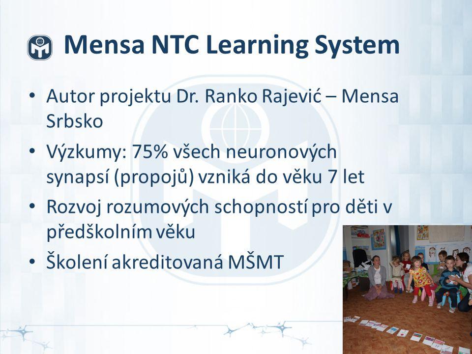 Mensa NTC Learning System Autor projektu Dr.