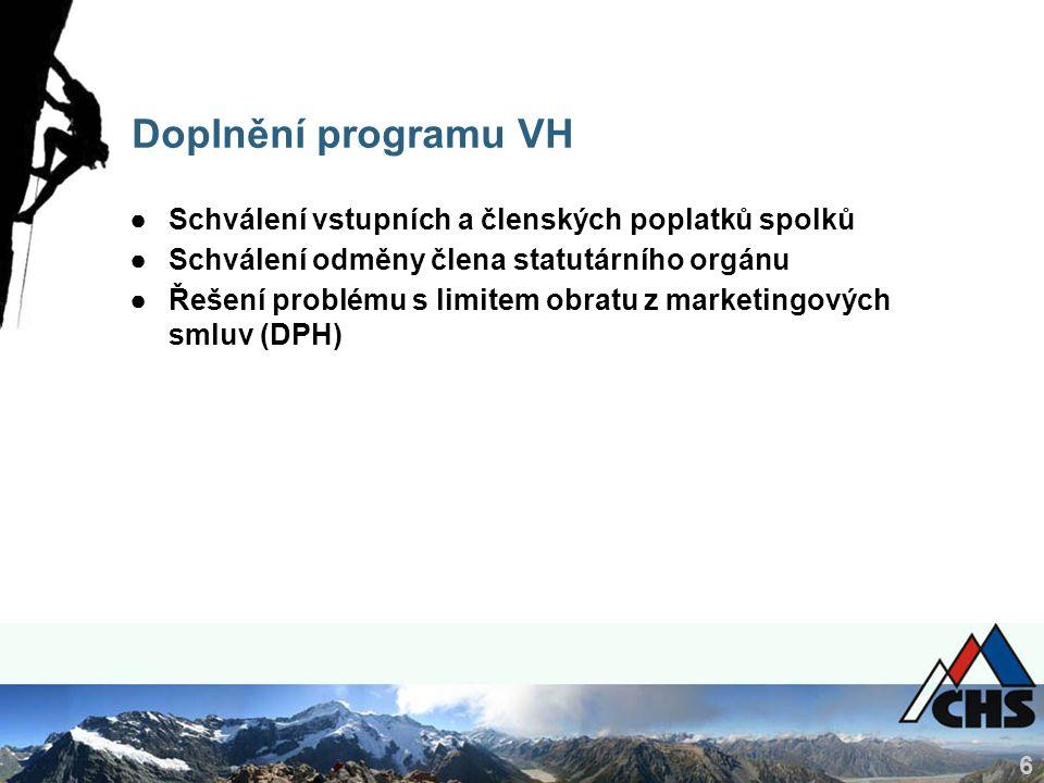 7 Zpráva o činnosti ČHS VH 2015