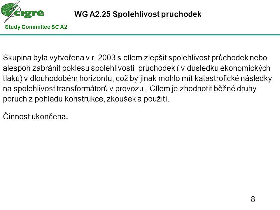 Study Committee SC A2 Děkuji velek@ceps.cz CIGRE A2 Publikační činnost od r. 2006 - 2008 29